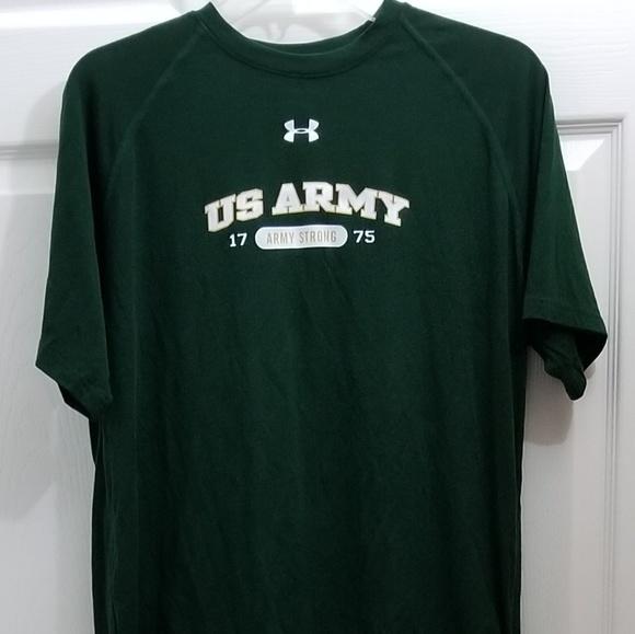 c5d1256eb Under Armour Shirts | Mens Ua Army Shirt Nwt Heatgear | Poshmark